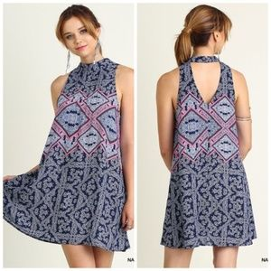 Dresses & Skirts - Umgee Paisley High Neck Dress